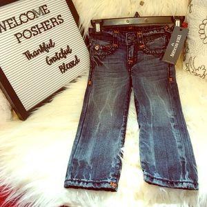 NWT True Religion Toddler Boy's Jeans